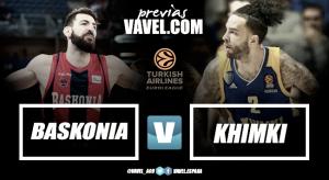 Previa Baskonia - Khimki: última llamada para el Playoff