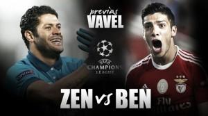 Zenit-Benfica: el pasaporte a cuartos se certifica en la tierra de los zares