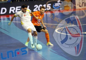 "Burela FS - Santiago Futsal: únicos ""na terra"""