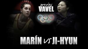 Carolina Marín - Hyun Sung Ji: primer peaje a la gloria