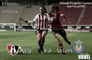 Previa Atlas - Chivas: La rivalidad ahora se dará en el Jalisco