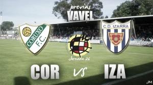 Coruxo FC - CD Izarra: duelo entre iguales