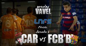 P.R.Cartagena – FC Barcelona Lassa 'B': los blaugranas amenazan el liderato cartagenero