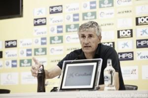 """Quique Setién: """"Tenemos argumentos para hacerle daño al Athletic"""""""