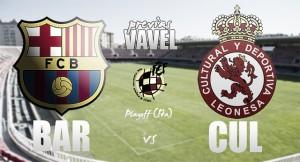 FC Barcelona 'B' - Cultural Leonesa: un paso más cerca de la Plata