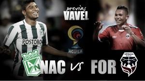 Previa Nacional - Fortaleza: los'verdolagas' van por el liderato
