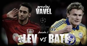 Bate Borisov - Bayer Leverkusen, spareggio Champions