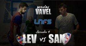 Levante UD DM - Santiago Futsal: hambre de victoria