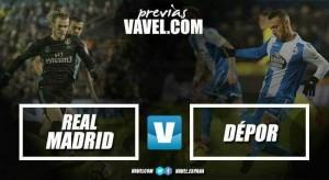 Previa Real Madrid -Deportivo de la Coruña: mejorar sensaciones para seguir enchufados
