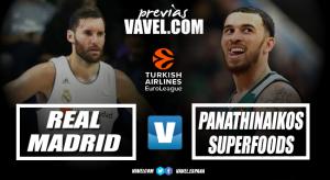 Previa Real Madrid-Panathinaikos: la serie llega al WiZink Center