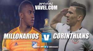 Previa Millonarios - Corinthians: los albiazules buscan tomar el liderato del grupo