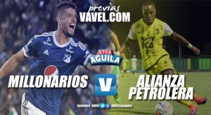 Previa Millonarios - Alianza Petrolera: ambos equipos con necesidad de salir del fondo de la tabla de posiciones