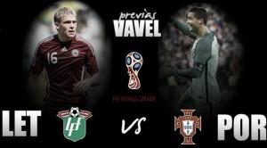 Previa Letonia - Portugal: La primera escala soviética del campeón europeo
