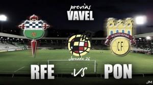 Racing de Ferrol - Pontevedra CF: cambiar la dinámica