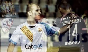 Catgas Santa Coloma - Santiago Futsal: mucho ruido de fondo