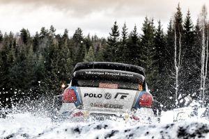 Suecia: la segunda del año a pura nieve