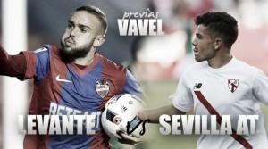 Levante - Sevilla Atlético: en busca del pleno en casa
