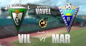 CF Villanovense - Marbella FC: partido de ensueño