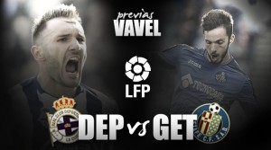 Previa Deportivo de La Coruña - Getafe: duelo de necesidades