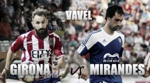 Girona CF - CD Mirandés: Montilivi, territorio oscuro