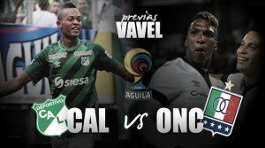 Deportivo Cali - Once Caldas: la clasificación está en casa