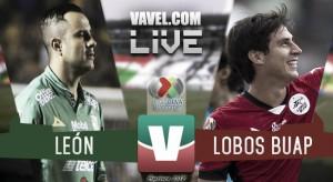 Resultado y gol del 0-1 León vs Lobos BUAP en Liga MX 2018