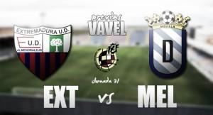 Previa Extremadura - Melilla: el gol como reto