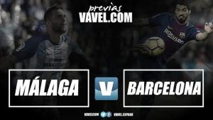 Previa Málaga CF - FC Barcelona: a seguir haciendo historia