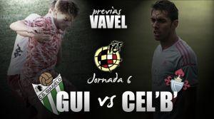 Guijuelo - Celta B: redimirse y reforzarse, en la misma línea
