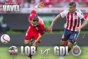 Previa Lobos - Chivas: tres puntos para dejar el fondo de la tabla