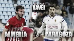Previa UD Almería - Real Zaragoza: confirmar el buen juego y abandonar los puestos peligrosos
