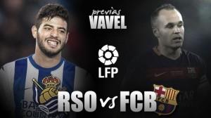 Real Sociedad - FC Barcelona: en deuda con Anoeta