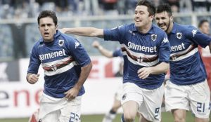 La Sampdoria sale del descenso a costa del Catania