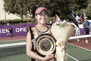 Hibino se hace con su primer título en Tashkent