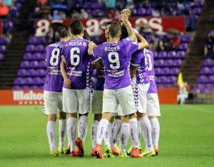 El Real Valladolid golpea primero