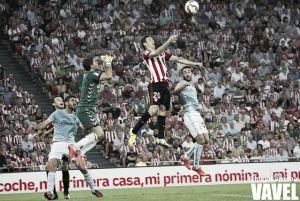 Aduriz se cae del partido en el Bernabéu