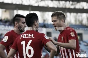 Fotos e imágenes del Almería 2-2 Levante, jornada 9 de Segunda División