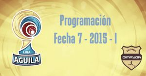 Programación de la Fecha 7 de la Liga Águila 2015-I