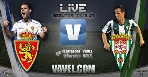 Real Zaragoza vs Córdoba CF, en directo online