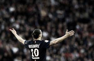 Ibrahimovic brilha e PSG massacra Guingamp na Ligue 1