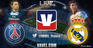 Live PSG - Real Madrid, le match en direct