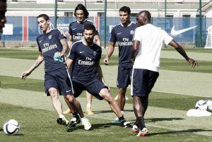 El Paris Saint-Germain ya prepara su partido del domingo ante el Mónaco