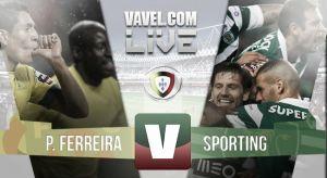 Resultado Paços de Ferreiravs Sportingen la Liga Portuguesa 2015(1-1)