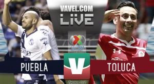 Resultado y goles del partido Puebla 2-1 Toluca en Liga MX 2018