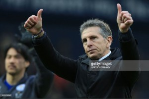 West Bromwich Albion win 'good reward' for Leicester City, says Claude Puel
