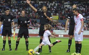 El Sevilla se lleva el sexto Trofeo Antonio Puerta