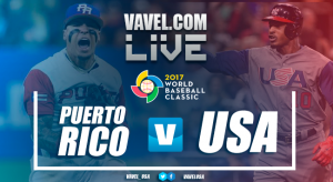 Score United States vs Puerto Rico in 2017 WBC Final (8-0)