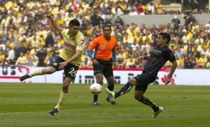 Serie pareja entre América y Pumas en el Estadio Azteca