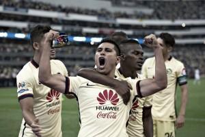 Puntajes América 1-0 Monterrey en la Semifinal de ida del Clausura  2016