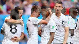 Francia - Nigeria, puntuaciones de Francia, octavos de final del Mundial